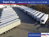 Stock site Schmitz Cargobull Latvija SIA